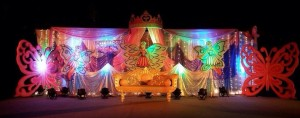 castle theme birthday decoration