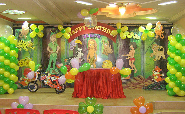 Moogly Theme Birthday Decoration