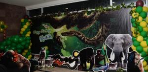 Latest jungle book theme decoration bangalore