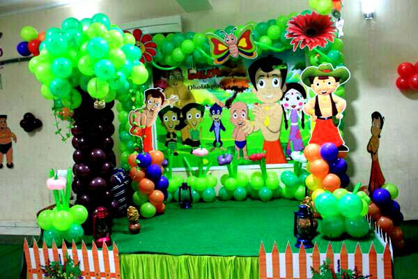 Chota Bheem Theme Customized Decoration Hiibangalore Com