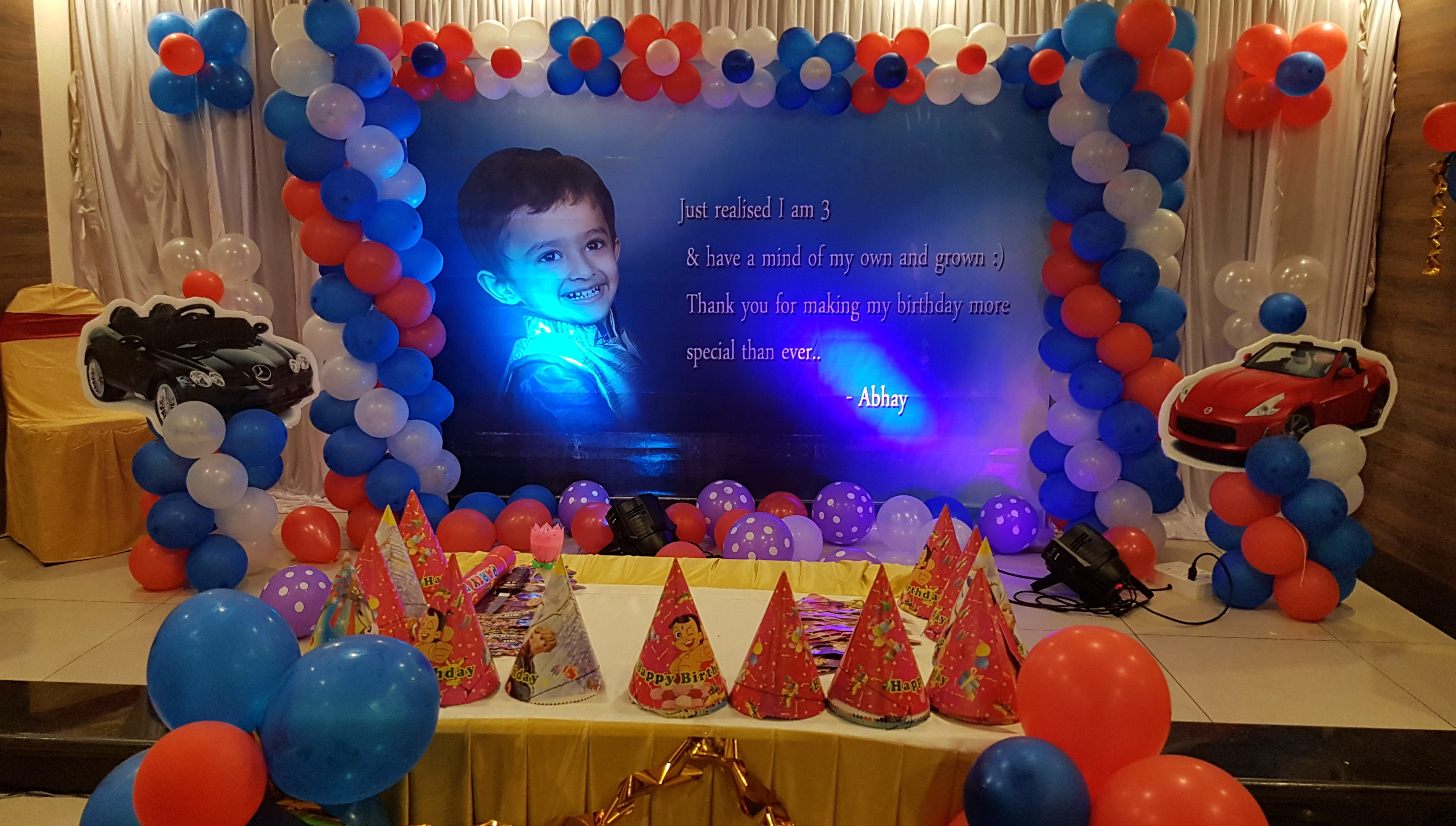 kids birthday party organisers in bangalore