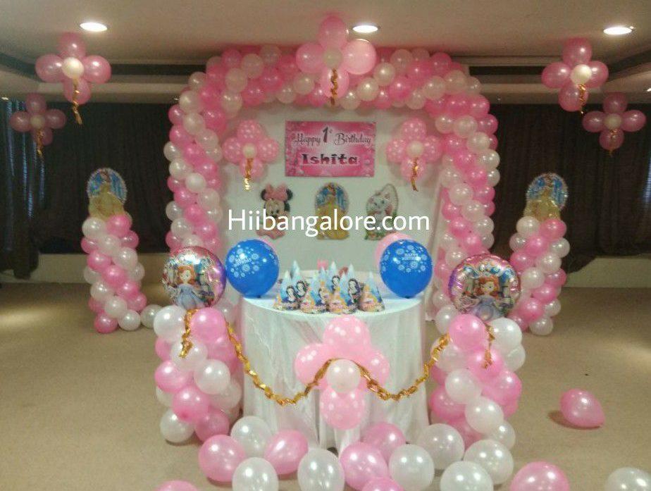princess theme birthday decorations