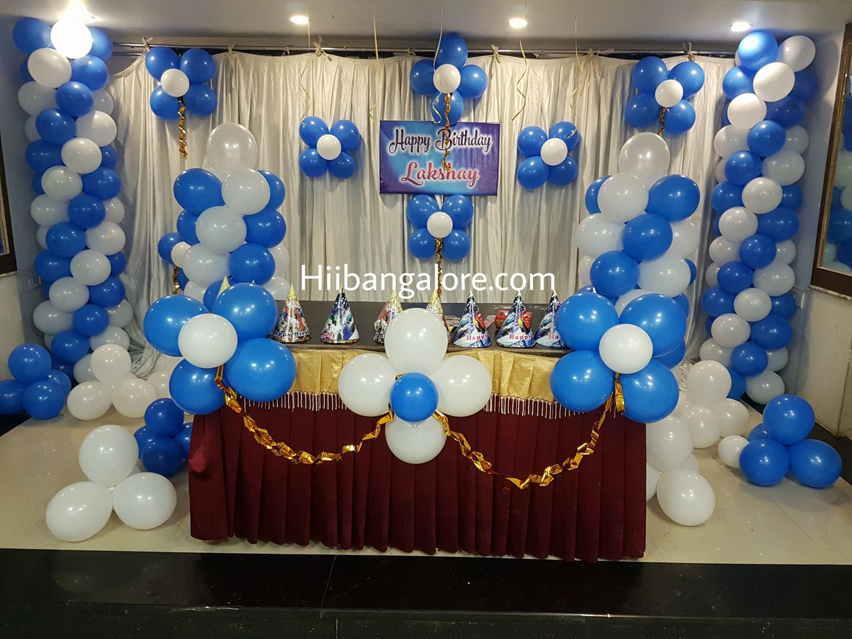 birthday party decorations bangalore