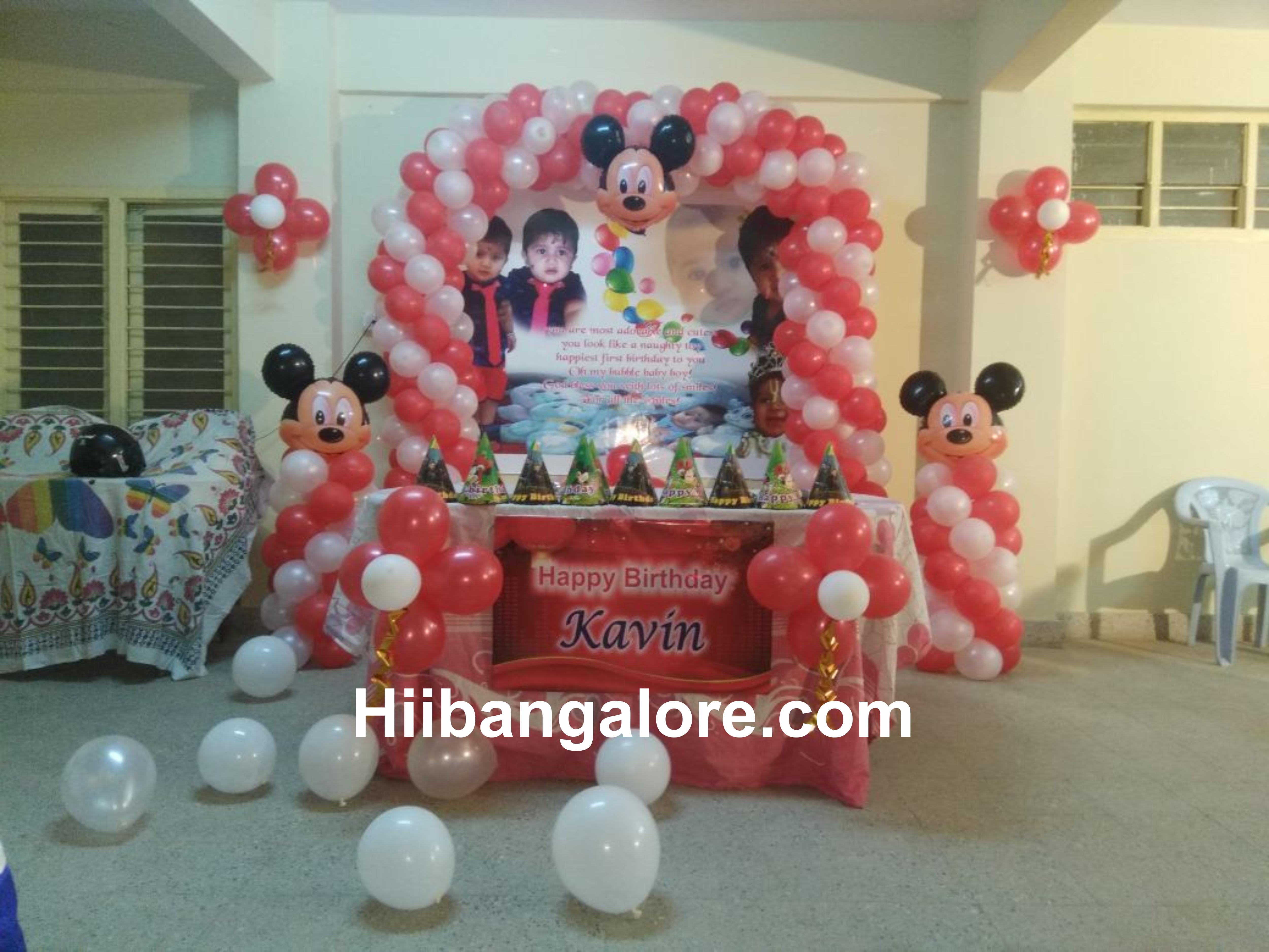 simple balaloreloon decoration bang