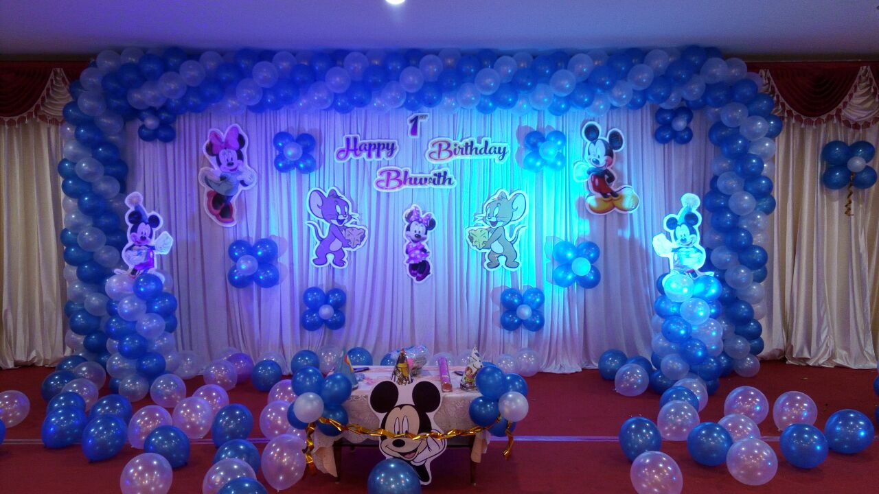 Disney combo theme balloon decoration