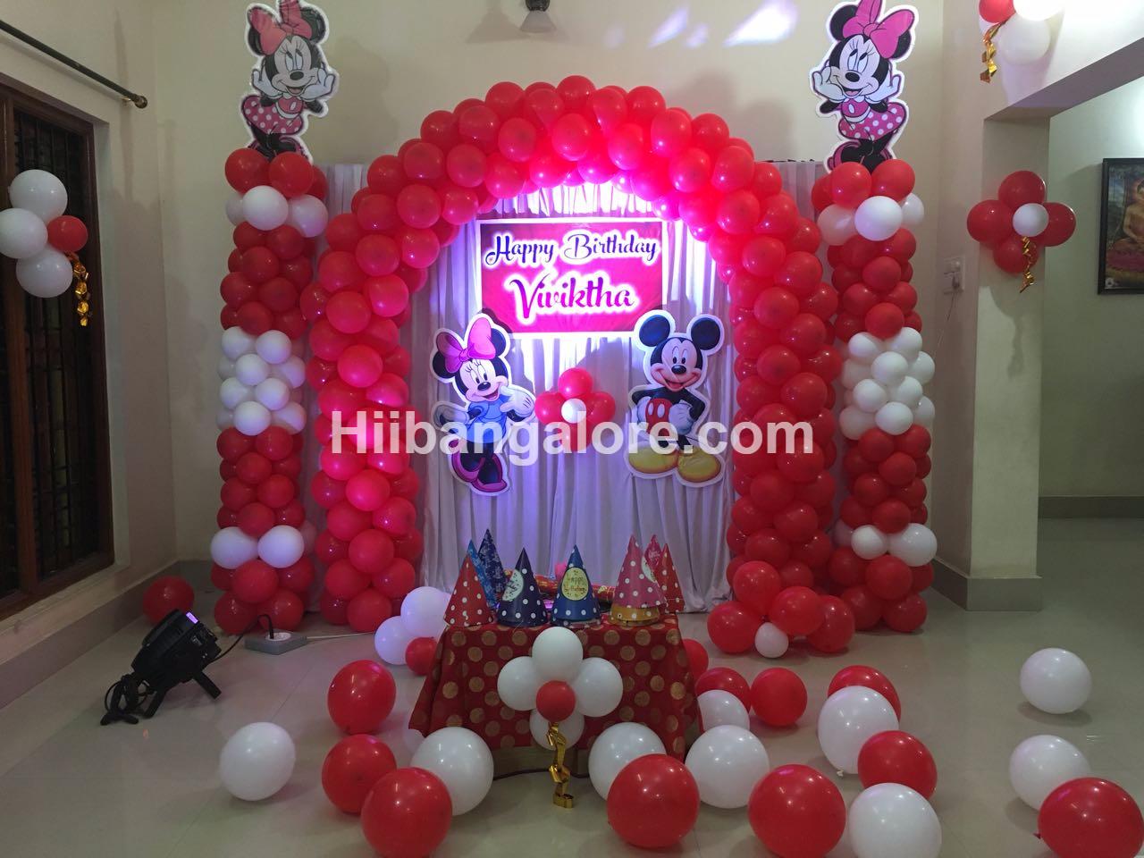 Mickey and minney mouse theme bangalore