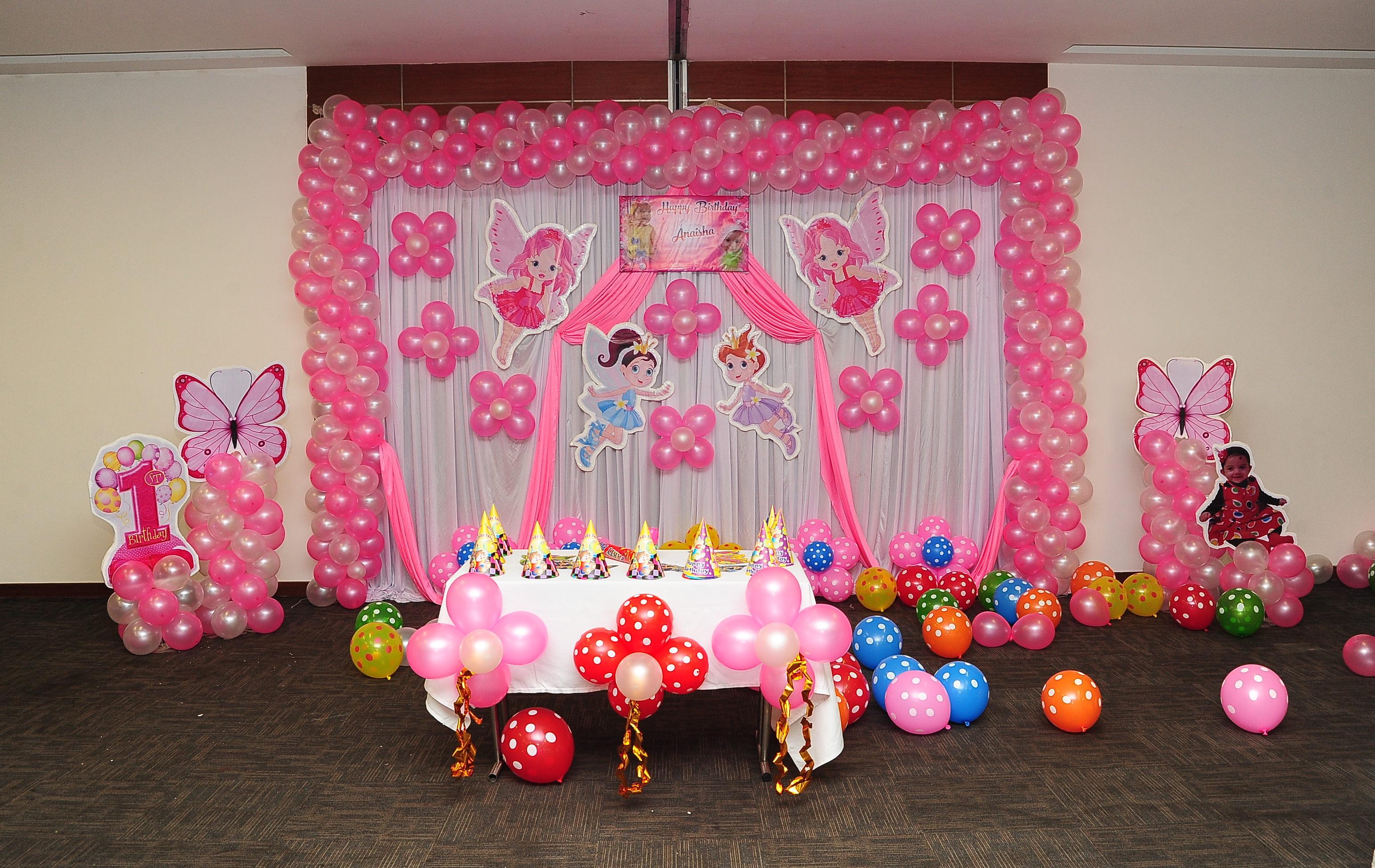 fairy theme birthday party banaglore