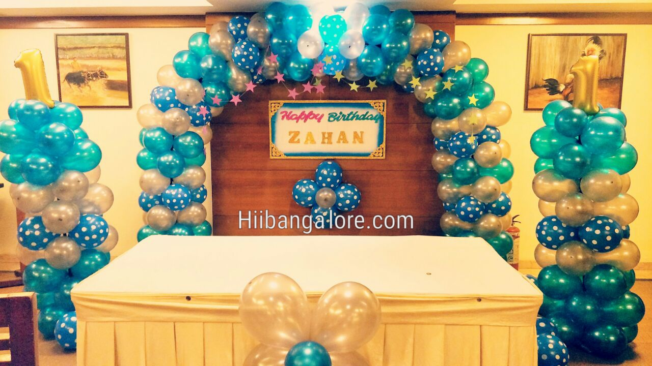 simple birthday party decoration