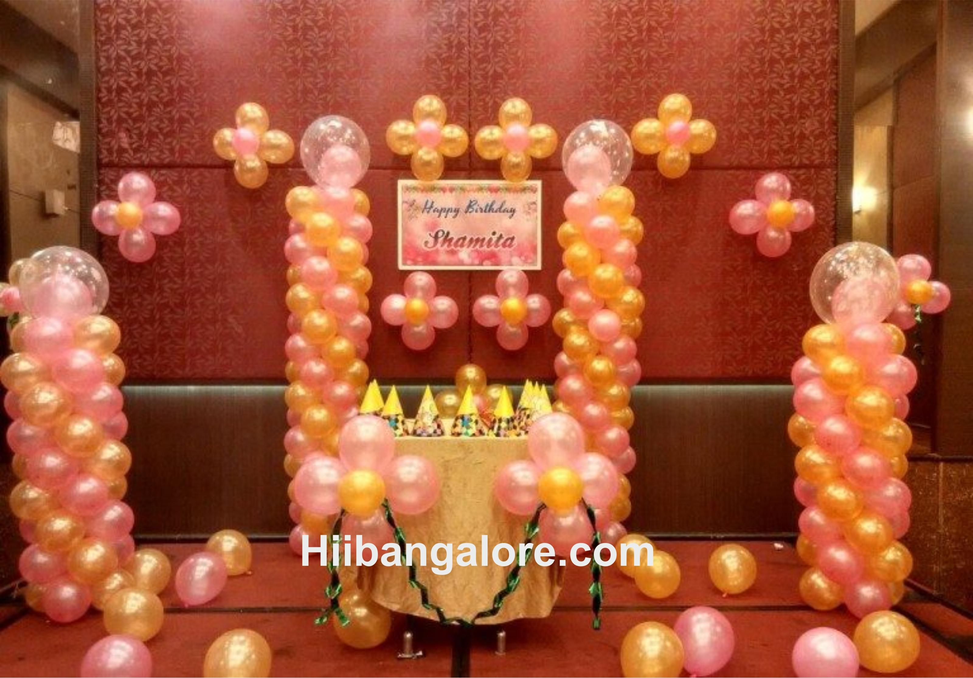 Basic balloon decorations in Bangalore