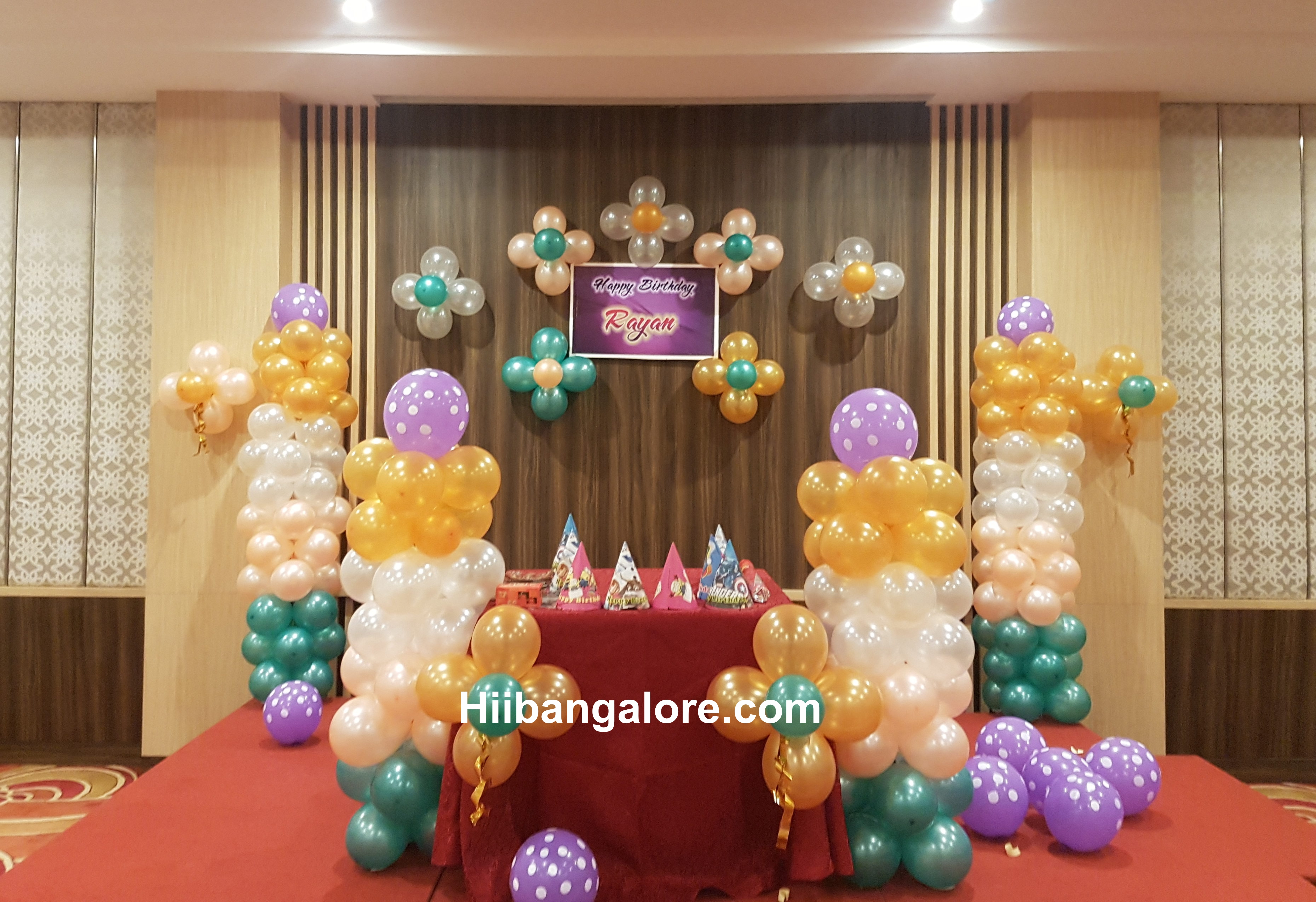 Basic Balloon Decorations