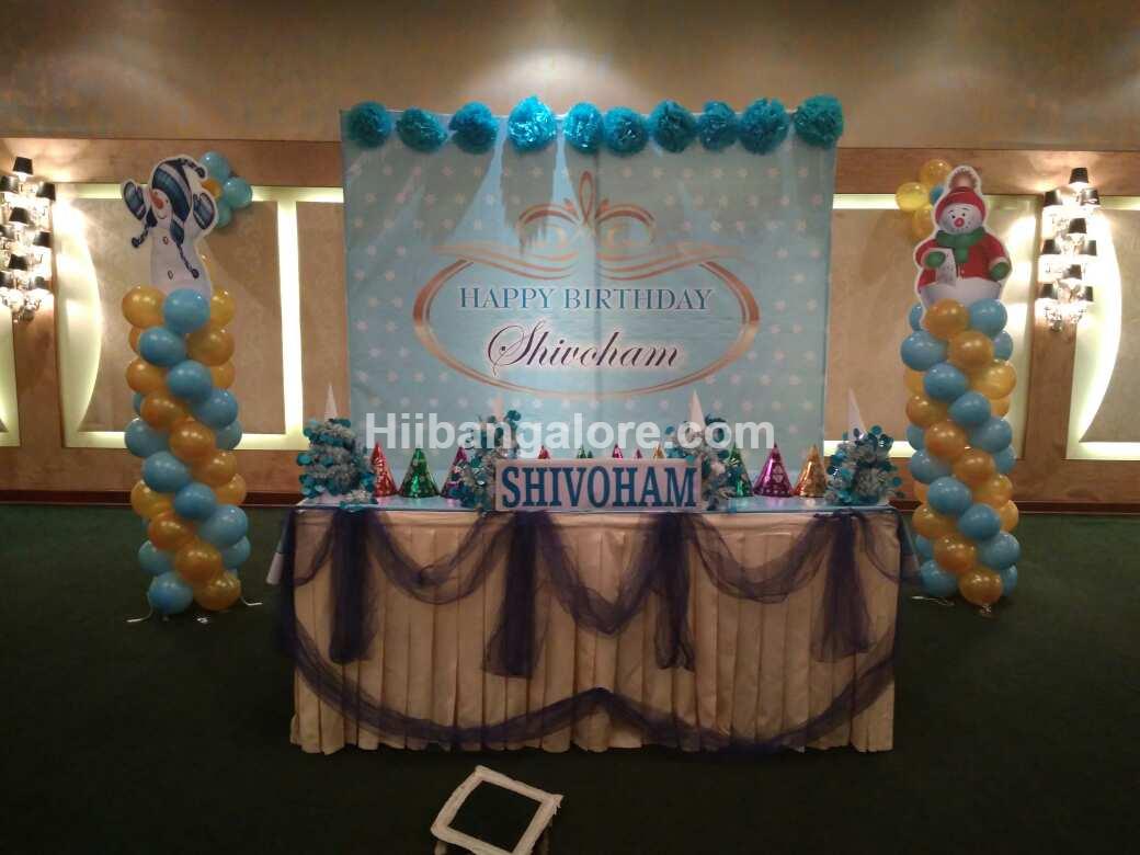 birthday banner theme decoration bangalore