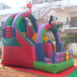 birthday party games bouncing castle