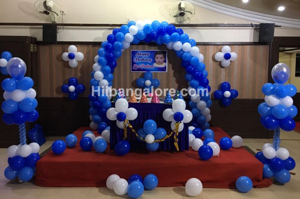 basic balloon decorations bangalore
