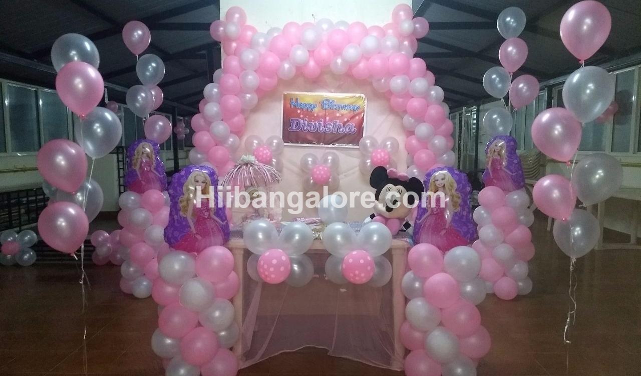 princess theme birthday decoration