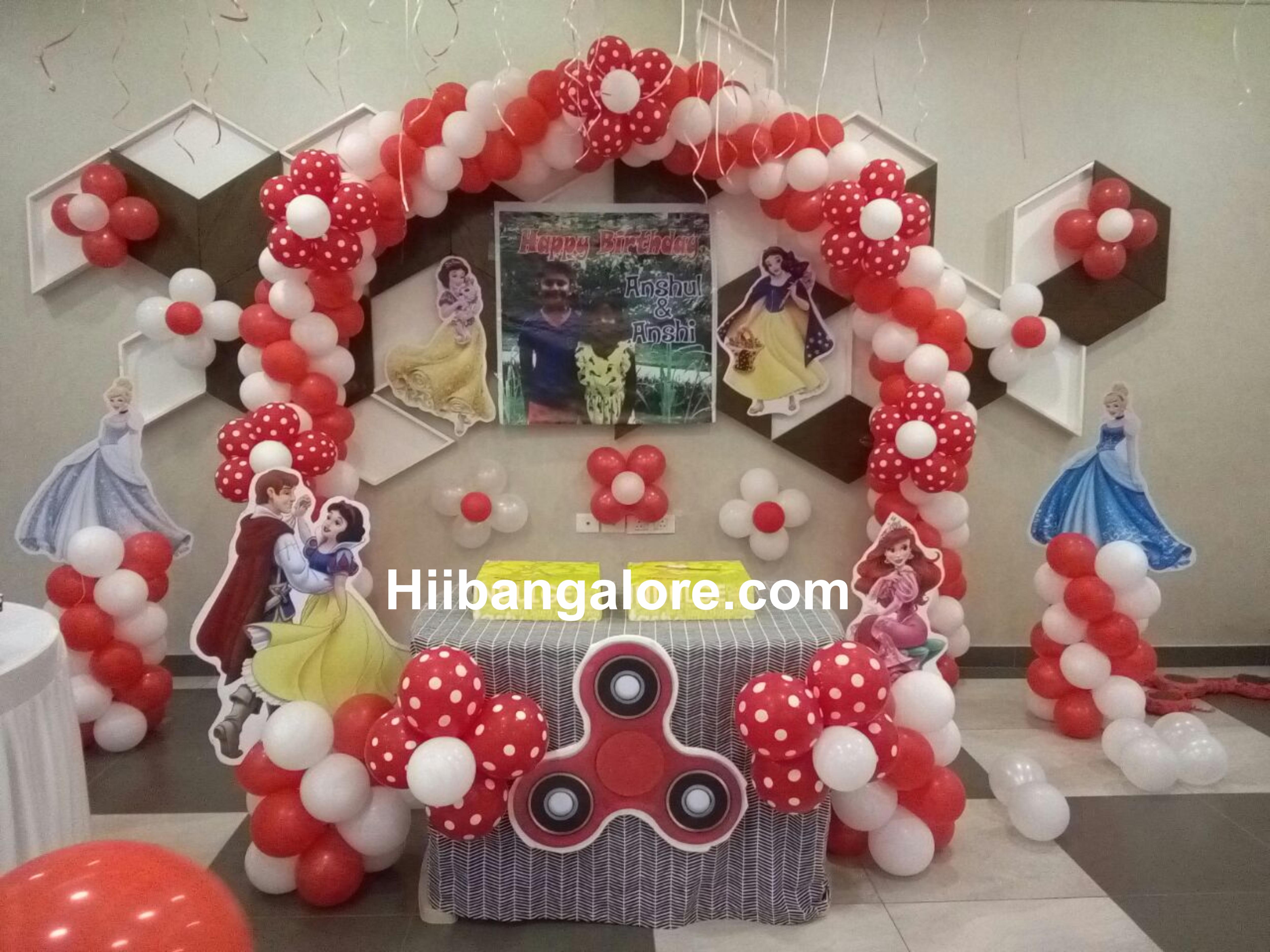 widget spinner theme birthday decoration