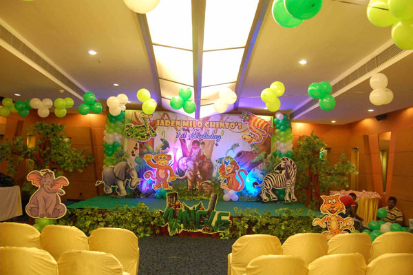 Jungle theme party bangalore