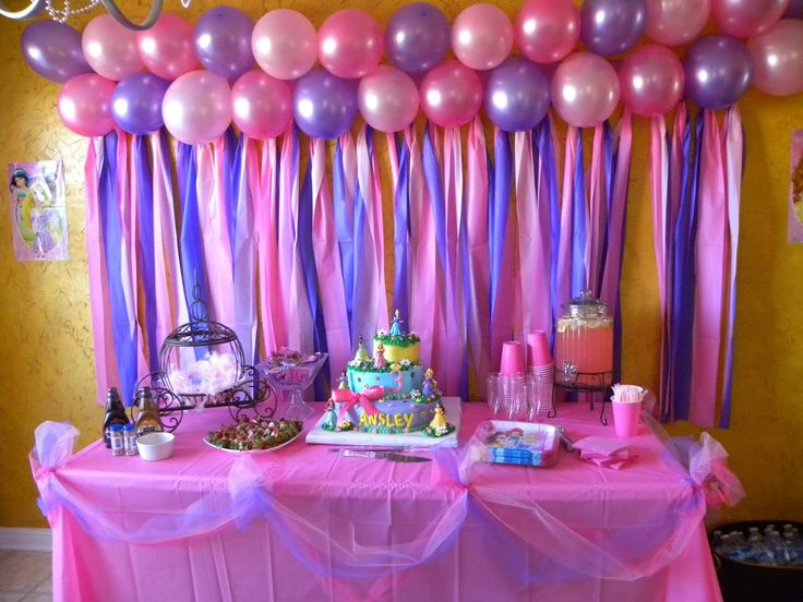 Home Birthday Party Decoration