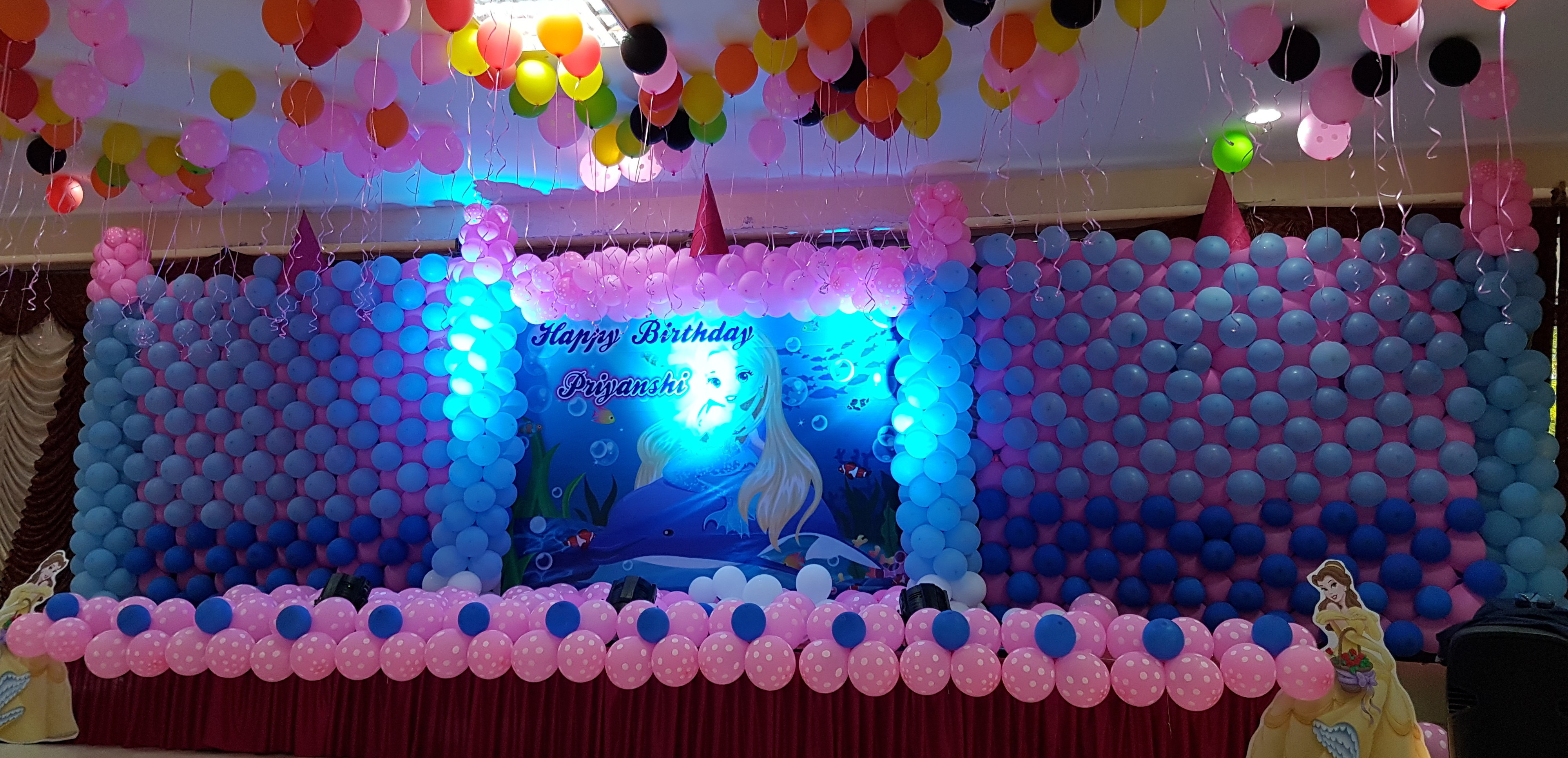 birthday party theme decoration