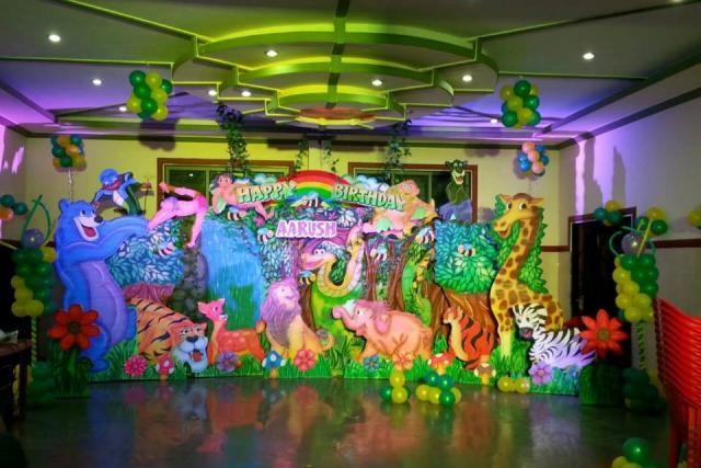 jungle theme party bangalore