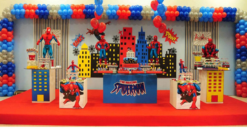 spiderman theme birthday party bangalore