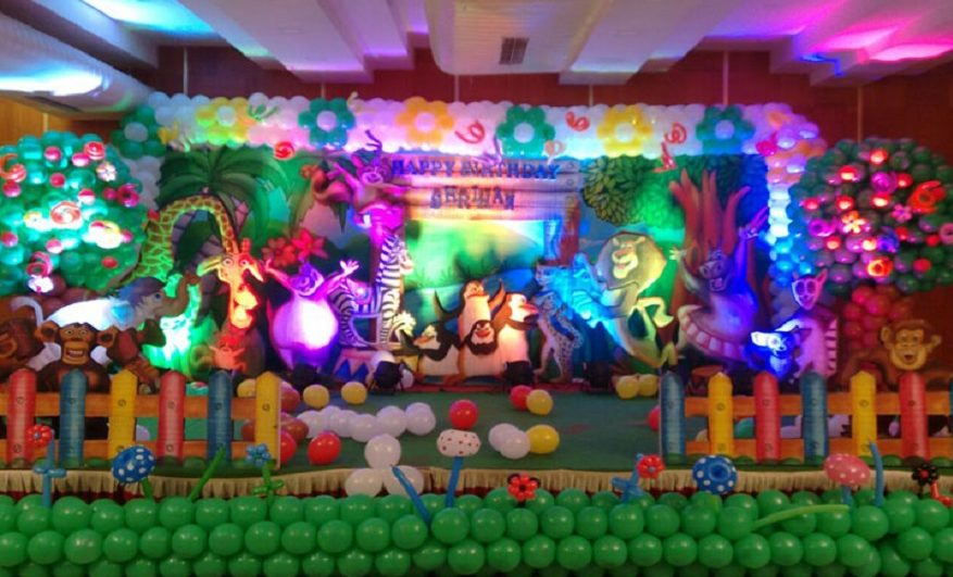 madagaskar themed birthday party bengaluru