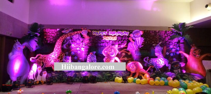 birthday party theme madaskar
