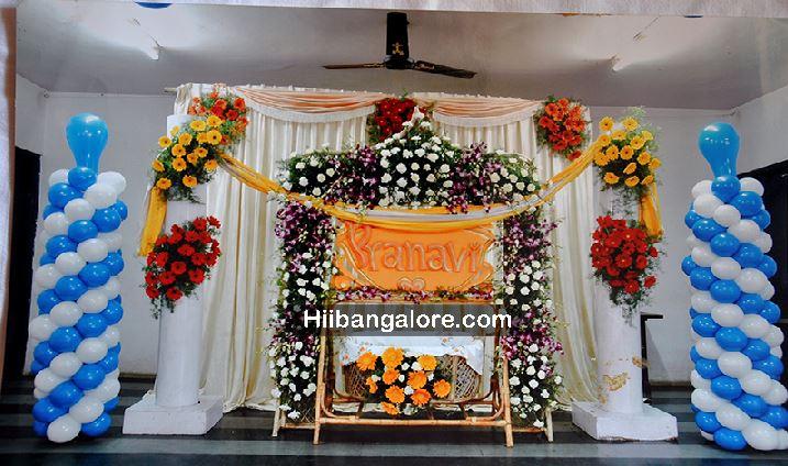 Naming Ceremony Decorations Bangalore