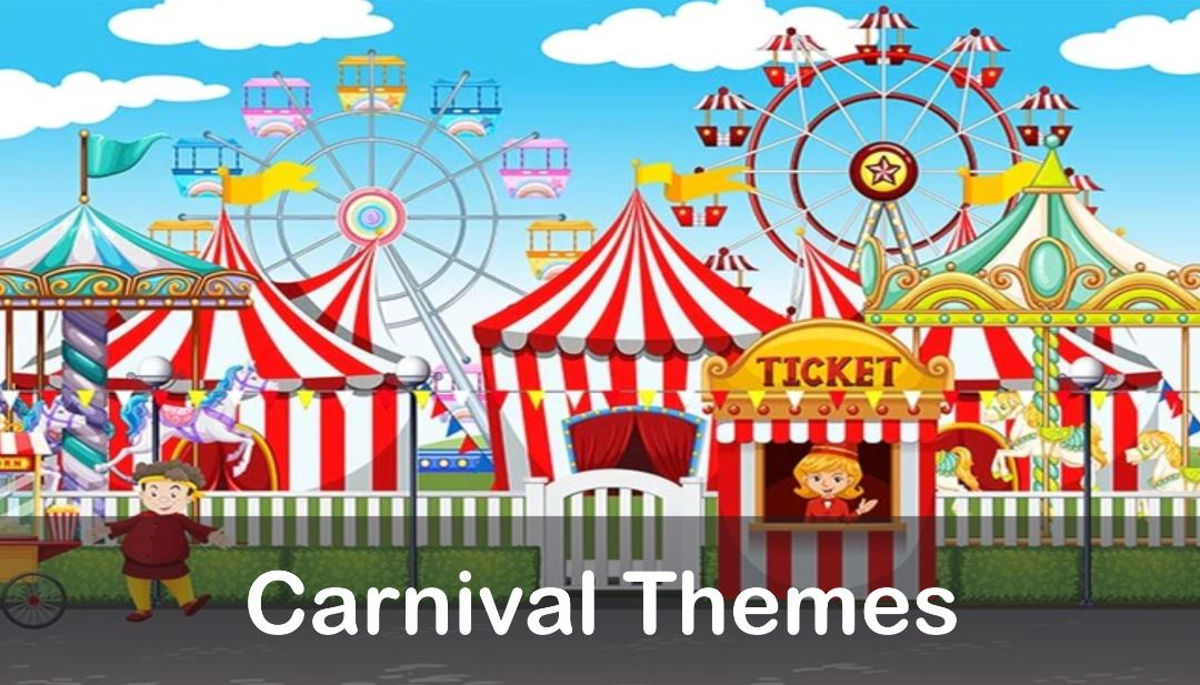 Carnival Theme Decorations Best Birthday Party Organisers