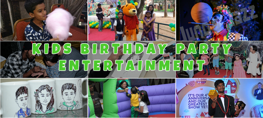 kids birthday party entertainment services
