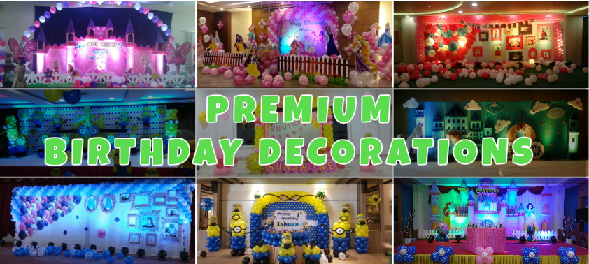 premium birthday party planners in Bangalore