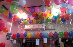 How To Make Simple Birthday Decoration At Home Best Birthday Party Organisers Balloon Decorators Birthday Party Caterers In Bangalore